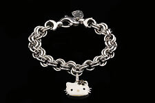 Kimora Lee Simmons Hello Kitty Sterling Silver Enamel & Sapphire Bracelet
