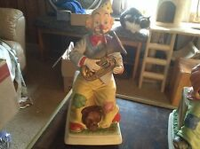 Melody in motion tuba playing clown musical figurine