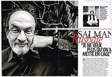 Coupure de presse Clipping 2008 (4 pages) Salman Rushdie