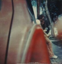VINTAGE ARTISTIC POLAROID POLACOPY ABSTRACT VOYEUR YOUNG LOVERS RED CAR PHOTO
