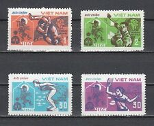 * Vietnam, Scott cat. 1231-1234. East Asian Games issue. Table Tennis.