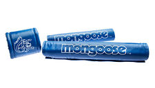 Mongoose pads - BLUE - old school bmx (NOW with long frame pad)
