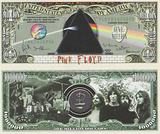 RARE: PINK FLOYD 1 Million Novelty Note, Music. Buy 5 Get one FREE