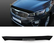 Smoke Bonnet Guard Bug Sheild Hood Garnish Molding for KIA 2014-2016 Sorento UM