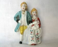 FRENCH LOOK ARISTOCRATIC MAN AND WOMAN FIGURE MADE IN OCCUPIED JAPAN