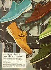 1968 vintage AD, BOSTONIAN BLAZERS Men's casual shoes -082413