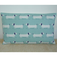 """20""""x12"""" Oblong Bolster Cushion Cover Dachshunds Sausage Dog Weiner Dogs Dashound"""
