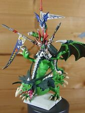 CLASSIC METAL AND PLASTIC HIGH ELF PRINCE IMRIK ON DRAGON PAINTED (L)