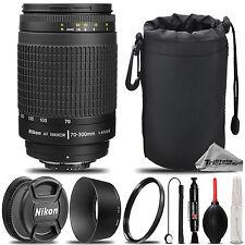 Nikon 70-300mm f/4.5-5.6G  AF Nikkor Zoom Lens for D7000, D7100, D7200, D750