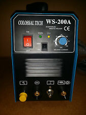 NEW Welder Tig & MMA ARC Welder 200AMP DC Inverter 2 in 1 Welder 2016 Model