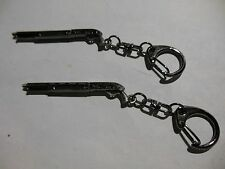 Tactical  Shotgun  With Pistol Grip-(( KEY CHAIN )) **Lot-of-2** Free  Shipping