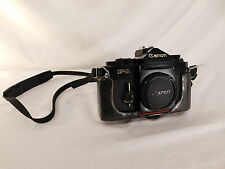 CANON F-1 CAMERA BODY JAPAN 666155 CASE FLASH COUPLER