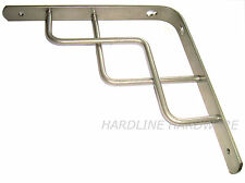 "1 - 8"", 200mm Trellis shaped Shelf Bracket Silver, - 6978"