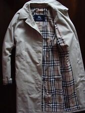 Womens Burberry London  Single Breasted Trench Coat Jacket Sz 12