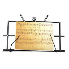 New Tabletop Music Stand Metal Sheet Music Holder with Waterproof Carry Bag 4GR9