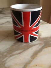 All you need is Love Union Jack COFFEE MUG Beatles Large Cup