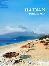 NEW 2015~TOURIST MAP of HAINAN, China Nat'l.Tourism~W/Details of Haikou & Sanya