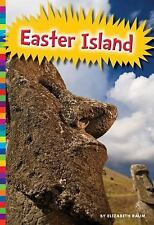 Statues of Easter Island (Ancient Wonders)-ExLibrary