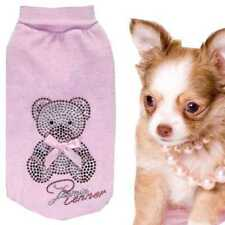 Gr.S Chihuahua Hundemode Hundemantel Hundepullover Nicki Winter Teddybärli A91