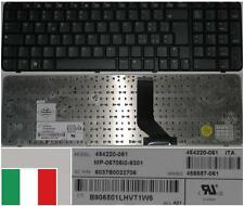 Clavier Qwerty Italien HP 6820S MP-06706I0-9301 454220-061, 456587-061 Noir