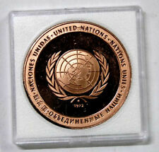1972 United Nation peace medal (Proof)