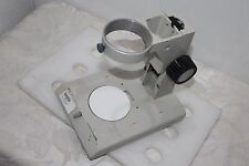 Stereo Microscope Track Stand & Focus Knobs 76mm Body Holder For Nikon SMZ-2B