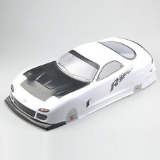 190mm Body Shell For 1/10 RC On Road Drift Car With Rear Ring 016