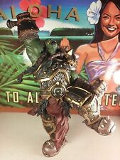"DC Direct World of Warcraft ORC WARCHIEF THRALL premium series 2 8"" inch figure"