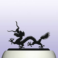 Acrylic Chinese Dragon Good Luck Cake Topper Decoration & Lucky Keepsake Gift