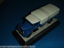 Mercedes Benz Lo 2750 Race car transporter 1936 Blue/White 1:43 New/New