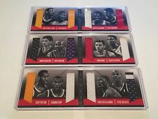Panini Preferred Booklet 2013-14 VS Olajuwon Pippen Malone Kemp Patch Lot (3)