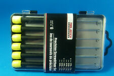 SLOT CAR Precision 6 Screwdriver Set  YOUR TOOL BOX PIT CASE NEEDS THESE