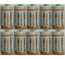 10 x ER14250 LS14250 Half AA, 1/2AA, 3.6v 1.2Ah IMAC Primary Lithium Battery