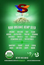 Raw Organic Hemp Seed 1 Pound Free Shipping Fast Delivery