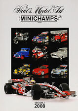 Paul's Model Art Minichamps Model Catalogue all Scales Diecast 2008 - Edition 1