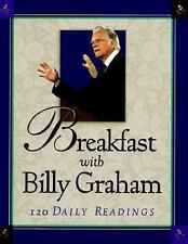 Breakfast with Billy Graham (Walker Large Print Books)-ExLibrary