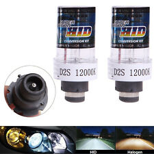 2Pcs 35W 12000K D2S / D2C Replacement Xenon HID Car Blanc Phare Ampoules