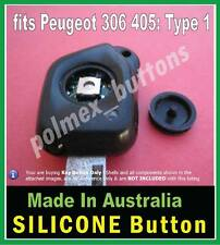 fits Peugeot 306 405 key FOB remote - Silicone BUTTON for switch with worn tip