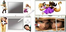 nintendo DS Lite - RAPUNZEL PRINCESS - 4 Piece Decal Sticker Skin vinyl