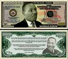 USA 1 Million Dollar Commemorative Banknote Martin Luther King - UNC & CRISP