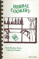 *FORT MADISON IA *HERBAL COOKERY COOK BOOK *KITCHEN GARDEN HERBS RECIPES *IOWA
