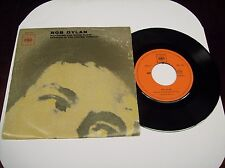 "BOB DYLAN ""WATCHING THE RIVER FLOW/SPANISH IS THE LOVING TONGUE"" 7"" 45 PS 1971"