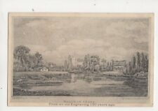 Waltham Abbey From 150 Years Ago Vintage Postcard 277b