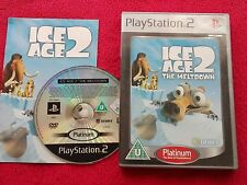 ICE AGE 2 THE MELTDOWN PLATINUM SONY PLAYSTATION 2 PS2 PAL