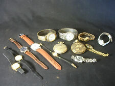 Wristwatch Pocket Watch LOT Jewelry Marcel Cariole PCA Quarts Men's Women's