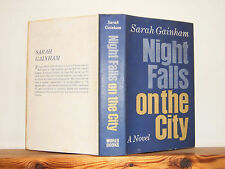 Night Falls on the City by Sarah Gainham HB in DW 1968 novel set in Vienna WW2