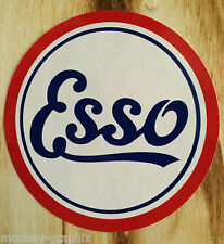 "Oldschool & Retro Aufkleber "" Esso "" Youngtimer / Gasoline / Ford & Opel"