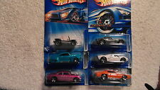 2005 K Mart variations HW Hotwheels Lot 6 PLYMOUTH GTX CORVETTE C6