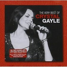 CRYSTAL GAYLE The Very Best Of (Live) CD BRAND NEW Fanfare