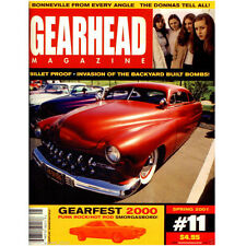 GEARHEAD MAGAZINE #11 . hot rod, Billet Proof, Donnas, Gearfest 2000, Bonneville